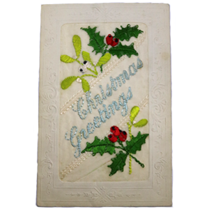 300 px Christmas original postcard